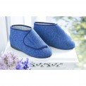 Ladies Wide Bootie Slippers