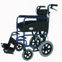 Transit Wheelchair with Attendant Handbrakes